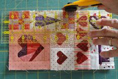 Needles 'n' Knowledge: Sewing & Quilting tutorials February Part 4  Tutorial for Silhouette Design