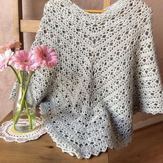 Stylish Poncho By Pierrot (Gosyo Co., Ltd) - Free Crochet Diagram - (ravelry) Stylish Poncho By Pierrot (Gosyo Co., Ltd) - Free Crochet Diagram - (ravelry) Poncho Au Crochet, Crochet Cape, Crochet Shawls And Wraps, Crochet Scarves, Crochet Clothes, Crochet Vests, Poncho Shawl, Crochet Shirt, Crochet Sweaters