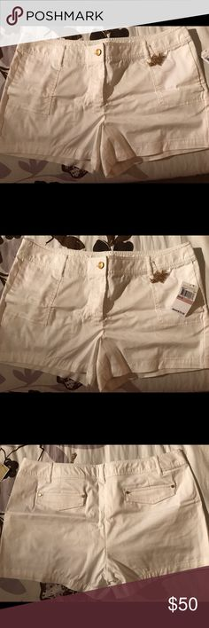 Brand new with tags Michael Kors Shorts size 12 Brand new with tags Michael Kors White shirts size 12 Michael Kors Shorts