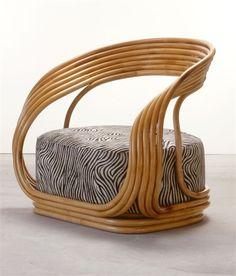Product: Eva Manufacturer: Vittorio Bonacina Designer: Giovanni Travasa Date: 1965 Status: Indent - 16 weeks) Dimensions: x x cm Construction: Cane/Wicker/Rattan, Foam Cane Furniture, Bamboo Furniture, Home Decor Furniture, Furniture Design, Love Chair, Bamboo Crafts, Home And Deco, French Decor, Cheap Home Decor