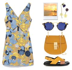 """""""N°134"""" by yellowgrapes ❤ liked on Polyvore featuring Zara, Marni and Chloé"""