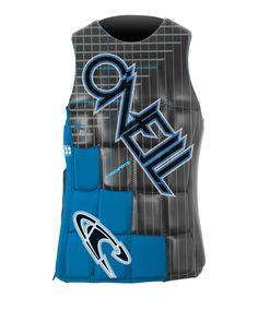 O'Neill Wake Waterski Men's Checkmate Comp Vest