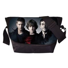 Tv Show Supernatural Young Men Women Messenger Bag Casual Travel Bag Boys Shoulder Bags Girls School Bags For Teenagers