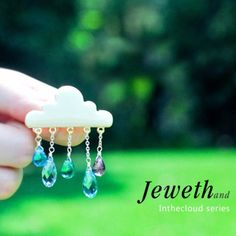 Inthecloud series, cloud brooch, do you like it?