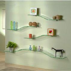 interior design shelves - Display, Shelving and Glasses on Pinterest