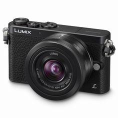 Systemkameror Panasonic Lumix DMC-GM1 svart +12-32/3,5-5,6 Lumix G Vario