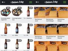 Deliver 2 day focuses on a whole different kind of delivery. Instead of groceries or prepared meals they deliver special products and delicatessen to your home. For example, you can order special beers and cheese.