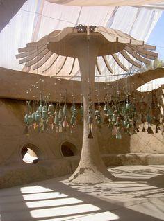 Paolo Soleri's studio