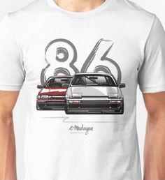 Toyota AE86 hachi roku Unisex T-Shirt