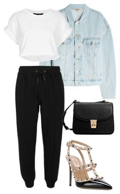 """""""#186"""" by mintgreenb on Polyvore featuring Yeezy by Kanye West, Valentino and MANGO"""