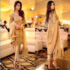 """""""Gorgeous Pakistani outfit in Allechant ✨⭐️"""" Pakistani Wedding Dresses, Pakistani Outfits, Indian Dresses, Indian Outfits, Eid Outfits, Eid Dresses, Fashion Outfits, Pakistani Couture, Indian Couture"""