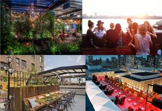 NYC Rooftop Bars for Spring/Summer