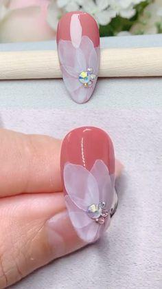 Cute Acrylic Nails, Acrylic Nail Designs, Gel Nails, Nail Polish, Classy Nails, Stylish Nails, Trendy Nails, Nail Art Designs Videos, Nail Art Videos