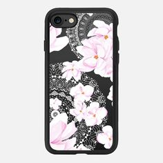 MAGNOLIA AND LACE by Monika Strigel iPhone 7 Hülle by Monika Strigel | Casetify (DE) $40 #casetifyiPhone7 #iphone7 #iphone7case #popular #cute #