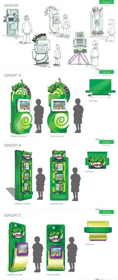 "TD Bank ""Wow"" kiosk for kids."