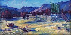 Room with a View, AZ Crow's Nest by Sonja Caywood Oil ~ 6 x 12