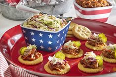 RITZ Pulled Pork Snackers Recipe Have an All American Summer #Nabisco#sweepsentry