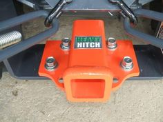 "Rear 2"" Receiver Hitch Plate for Kubota BX Series KPH2-O"