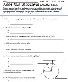 Freebie worksheet to