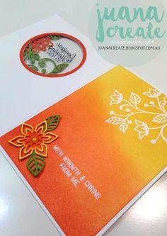 Juana Ambida | Comforting Flourishing Phrases | #GDP042, #SIP54, #Flourishingphrases, #Handmadecards, #Stampinup, #Juanacreate