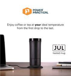 The Jül: Heated Smart Mug for Coffee & Tea by Power Practical —Kickstarter