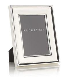 Ralph Lauren silver photo frame - classy