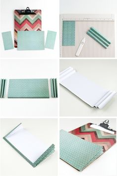 New home decored diy on a budget projects wall art Ideas Patio House Ideas, Clipboard Crafts, Home Office Table, Office Decor, Kirigami, Folder Diy, Home Gym Design, Design Design, Workout Room Home