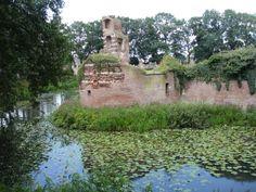The ruins of castle Batenburg