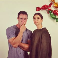 Ryan Kelley & Shelley Hennig