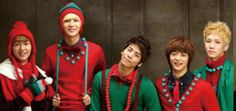 Idols wish you a Merry Christmas in cute holiday apparel! | allkpop.com