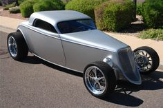 Visit The MACHINE Shop Café... 1933 FORD SPEEDSTAR CUSTOM COUPE - Barrett-Jackson Auction Company - World's Greatest Collector Car Auctions