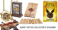 #HarryPotter Collector's #Giveaway – WIN: 1 Book + 3 Collector's Items…