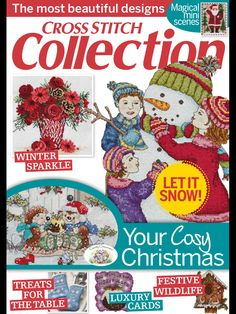 Cross Stitch Collection Issue 243 December 2014 Zinio Patterns pinned