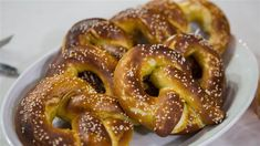 Siri Daly's homemade soft pretzels are perfect for Super Bowl snacking
