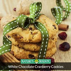 Love baking with a twist? Try these White Chocolate Cranberry Cookies!