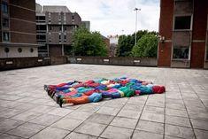 Bizarresia | Fotografías de cuerpos en espacios urbanos