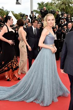 "Sienna Miller in a custom made Gucci gown - Closing Ceremony And ""Le Glace Et Le Ciel"" Premiere - The 68th Annual Cannes Film Festival #Cannes2015"