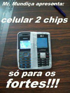 Esse sim é dois chip de última geração!!!!