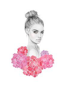 Kelly Smith, Fashion Illustration