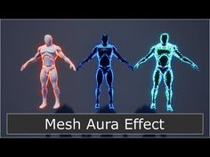 Body Aura Effect - Material Tutorial Unity Tutorials, Game Programming, Game Effect, Meditation Music, Reiki Meditation, Aura Colors, Video Game Development, Tech Art, Game Engine