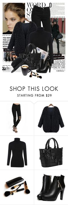 """Shop - Shein"" by yexyka ❤ liked on Polyvore featuring Oris, 7 For All Mankind, Iman and WithChic"