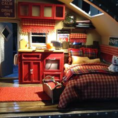 DIY+Miniature+Tiny+Trailer+Dollhouse