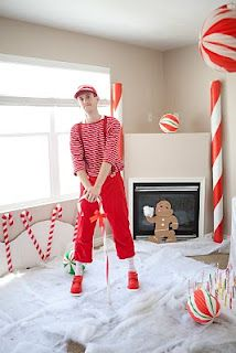 Candyland Mr. Mint Costume. Hmm...could I get MY husband to do this??