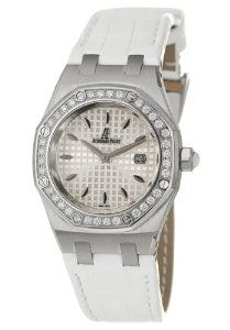 Audemars Piguet Lady Royal Oak Women's Quartz Watch 67621ST-ZZ-D012CR-02  $10,080.00   #luxury watches #audemarspiguet