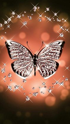 Pink butterfly wallpaper by - - Free on ZEDGE™ Butterfly Wallpaper Iphone, Bling Wallpaper, Diamond Wallpaper, Heart Wallpaper, Cute Wallpaper Backgrounds, Pretty Wallpapers, Love Wallpaper, Galaxy Wallpaper, Cellphone Wallpaper