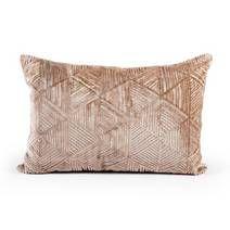 Geo Triangle Repeat Cushion