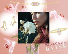 #hvisklush #hvisk #hviskstylist #hviskjewellery #hviskstyling #jewellery #pink #pinkjewellery #girly #gold #lush #lushcollection