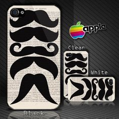 Retro Mustaches Vintage Custom IPho.. on Luulla
