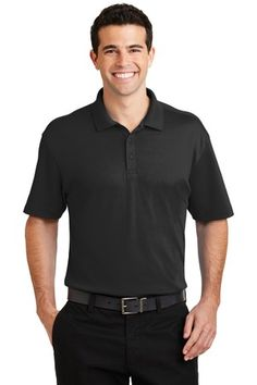 Port Authority® Silk Touch™ K5200 - Interlock Performance Polo #portauthority #menspolo #fathersdaygifts
