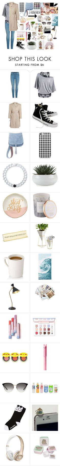 """""""M.S.J"""" by ali-0 ❤ liked on Polyvore featuring Balenciaga, Converse, Steve Madden, Lokai, Slant, D.L. & Co., He Said, She Said, Umbra, PBteen and Global Views"""